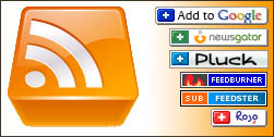 RSS news feed logos
